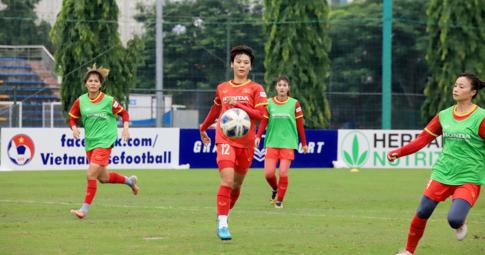Chốt thời gian công bố danh sách ĐT nữ Việt Nam tham dự vòng loại Asian Cup 2022