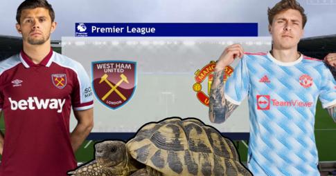 Thần rùa tiên tri dự đoán West Ham vs Man United | Ngoại hạng Anh | 20h00 ngày 19/9/2021