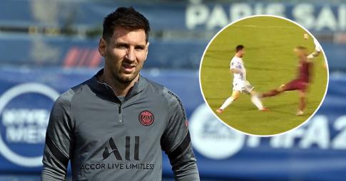 Ai là người đã khiến Lionel Messi gặp chấn thương đầu gối?