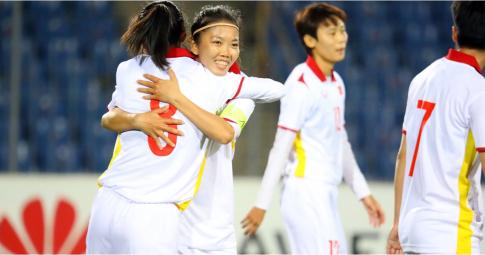 AFC chúc mừng ĐT nữ Việt Nam <b>giành vé dự Cúp châu Á</b>