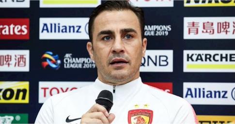 NÓNG! Trung Quốc tính đưa Cannavaro làm HLV để đấu Việt Nam