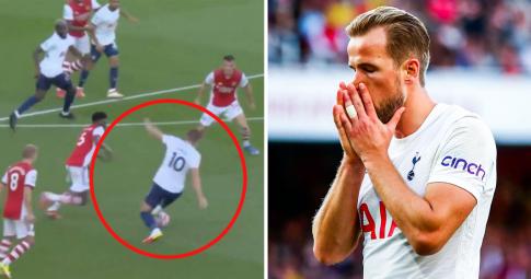 """<b>Harry Kane và 4 thông số """"thảm họa""""</b> trong ngày đại bại trước Arsenal"""