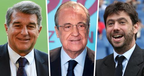 """UEFA chính thức """"đầu hàng"""" Barca, Juventus, Real trong vụ Super League"""