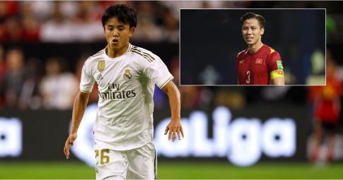 Quế Ngọc Hải lỡ dịp đối đầu với ngôi sao Real Madrid