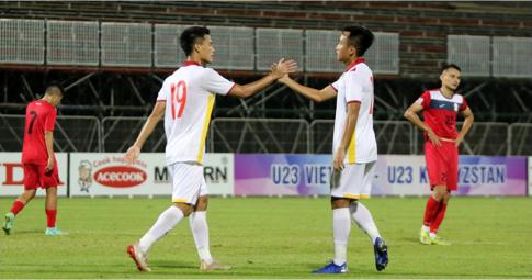 U23 Việt Nam 3-0 U23 Kyrgyzstan: Màn tổng duyệt chất lượng