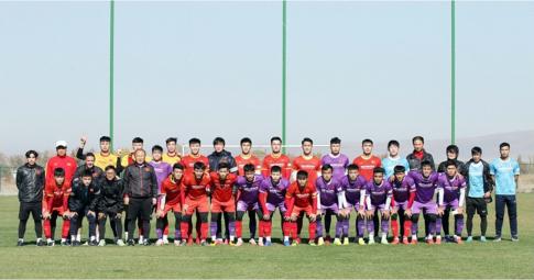 Phản ứng của HLV Park Hang-seo sau trận đấu tập của U23 Việt Nam