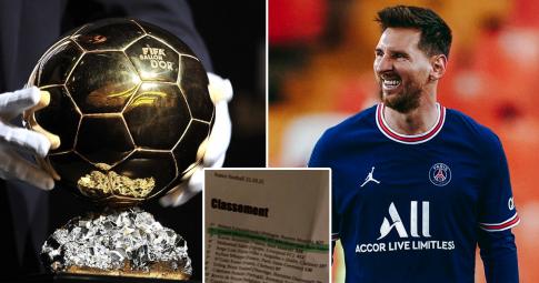 Lộ rõ chủ nhân Quả bóng Vàng 2021: Không phải Messi; gọi tên nhà vô địch châu Âu