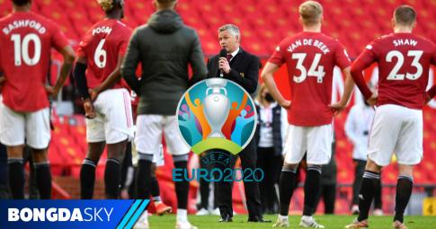Danh sách các cầu thủ Man United tham dự EURO 2021