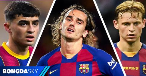 Danh sách các cầu thủ Barcelona tham dự EURO 2021
