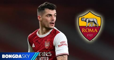 Football.London: Xhaka đang ngày càng tiến gần AS Roma hơn