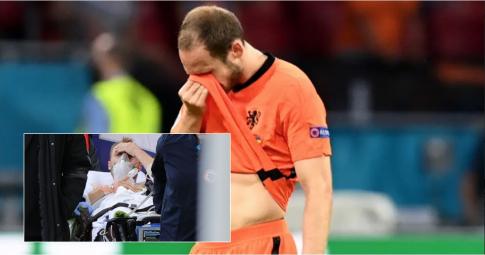 Cựu cầu thủ Man United rơi nước mắt vì chung hoàn cảnh với Eriksen