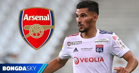 Arsenal đang có lợi thế lớn để chiêu mộ Houssem Aouar