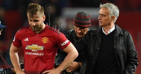 """Mourinho hé lộ mối quan hệ """"bằng mặt không bằng lòng"""" với Luke Shaw"""