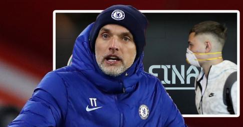 Ngôi sao của Chelsea không thể tiếp tục thi đấu tại EURO 2021 do mắc Covid