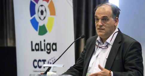 Chủ tịch La Liga tiết lộ cơn khủng hoảng kinh hoàng của Barcelona