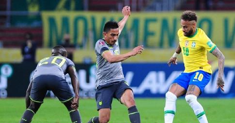 Hòa Ecuador, Brazil ngắt mạch 10 trận toàn thắng