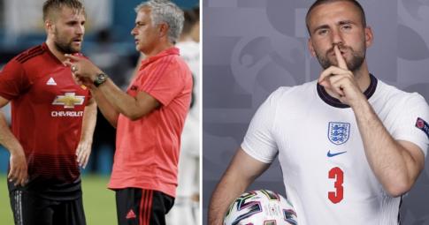 Luke Shaw đáp trả cực gắt chỉ trích của Mourinho