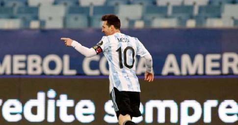 Messi tỏa sáng, Argentina đi tiếp ở Copa America