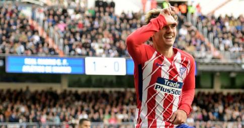 Antoine Griezmann khó có thể trở lại Atletico Madrid