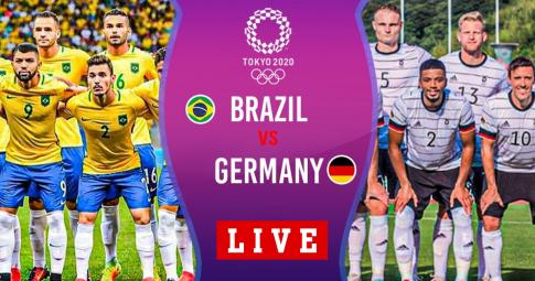 Kết quả U23 Brazil vs U23 Đức   Olympic Tokyo 2021   18h30 ngày 22/7/2021