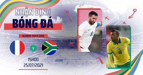 Thần rùa tiên tri dự đoán U23 Pháp vs U23 Nam Phi   Olympic Tokyo 2021   15h ngày 25/7/2021