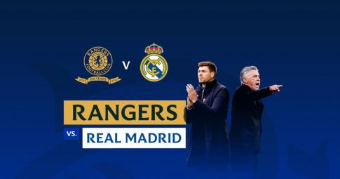 Trực tiếp Rangers vs Real Madrid | Giao hữu CLB 2021 | 00h00 ngày 26/7/2021