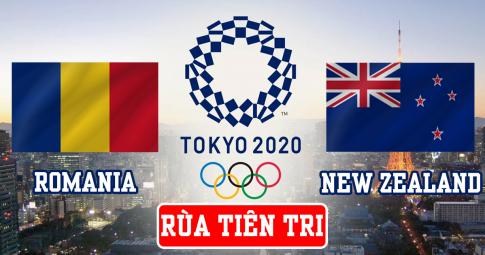 Thần rùa tiên tri dự đoán U23 Romania vs U23 New Zealand | Olympic Tokyo 2021 | 15h30 ngày 28/7/2021