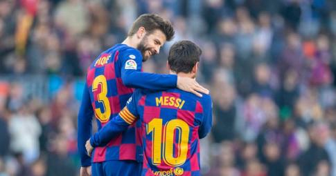Pique hy vọng Messi sẽ ở lại