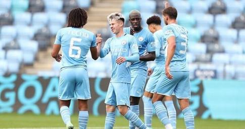Man City 4-0 Barnsley: Sức mạnh của nhà đương kim vô địch trước trận tranh Siêu Cup