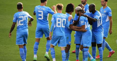 Man City 4-1 Blackpool: Gundogan lập cú đúp mang về chiến thắng cho nhà ĐKVĐ Premier League