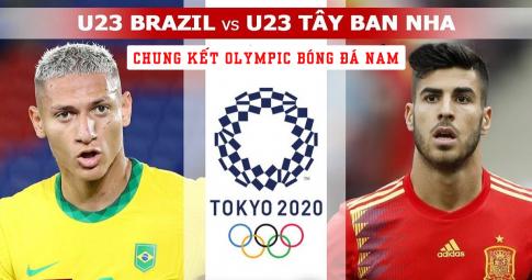 Kết quả U23 Brazil vs U23 Tây Ban Nha | Olympic Tokyo 2021 | 18h30 ngày 7/8/2021