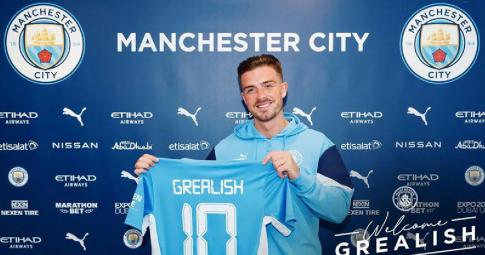 """Grealish thừa nhận đã """"khóc như Messi"""" khi chia tay Aston Villa"""