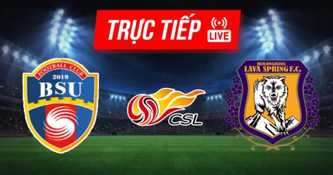 Kết quả Beijing BSU vs Heilongjiang Ice City | CFA China League | 18h35 ngày 16/8/2021