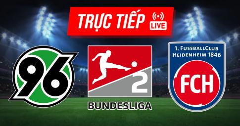 Kết quả Hannover 96 vs Heidenheim | Bundesliga 2 | 23h30 ngày 20/8/2021
