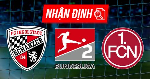 Nhận định Ingolstadt 04 vs Nurnberg | Bundesliga 2 | 18h30 ngày 22/08/2021