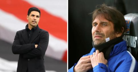 """<b>Arteta nhận """"tối hậu thư"""",</b> Conte được nhắm thay thế"""