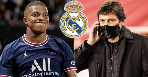 """Giám đốc PSG: """"Mbappe muốn ra đi, nhưng <b>Real tiếp cận trái luật</b>"""""""