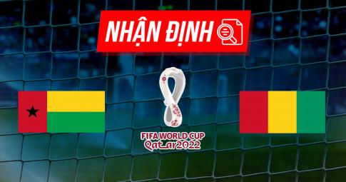 Nhận định Guinea-Bissau vs Guinea | World Cup 2022 | 23h00 ngày 01/09/2021