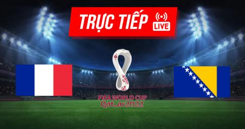 Kết quả France vs Bosnia Herzegovina | World Cup 2022 | 01h45 ngày 02/09/2021