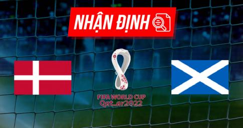 Nhận định Denmark vs Scotland | World Cup 2022 | 01h45 ngày 02/09/2021