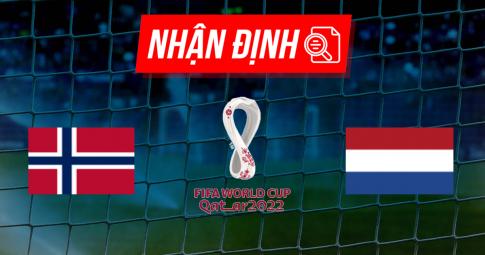 Nhận định Norway vs Netherlands   World Cup 2022   01h45 ngày 02/09/2021