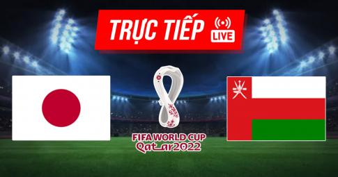 Kết quả Nhật Bản vs Oman | World Cup 2022 | 17h15 ngày 2/9/2021