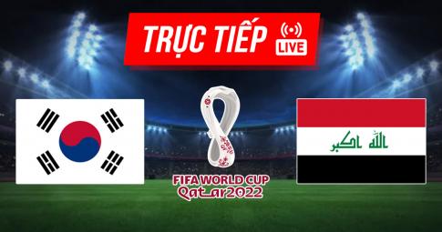 Kết quả Hàn Quốc vs Iraq   World Cup 2022   18h00 ngày 2/9/2021