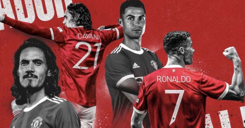 Cavani <b>nhường áo số 7 </b>tại MU, Ronaldo gửi ngay thông điệp ý nghĩa