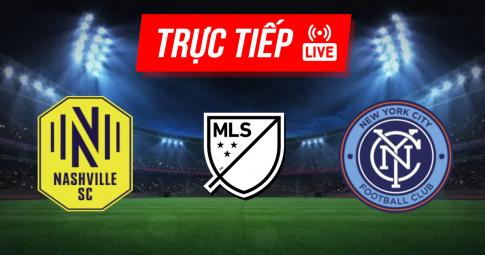 Kết quả Nashville SC vs New York City FC   MLS   06h30 ngày 04/09/2021