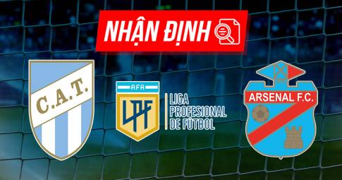 Nhận định Atletico Tucuman vs Arsenal Sarandi   Liga Profesional   23h30 ngày 4/9/2021