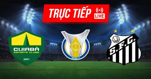 Kết quả Cuiaba vs Santos | Brazil Serie A | 07h00 ngày 05/09/2021