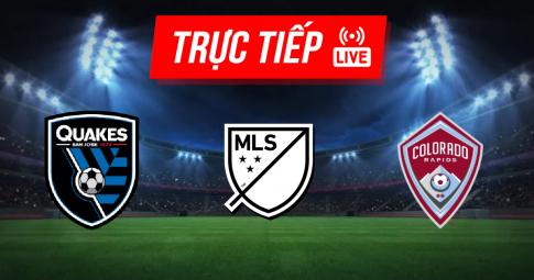 Kết quả San Jose Earthquakes vs Colorado Rapids | MLS | 09h00 ngày 05/09/2021