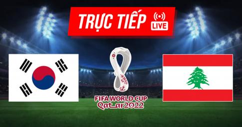 Kết quả Hàn Quốc vs Lebanon | World Cup 2022 | 18h00 ngày 7/9/2021