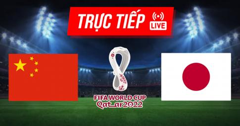 Kết quả Trung Quốc vs Nhật Bản | World Cup 2022 | 22h00 ngày 7/9/2021